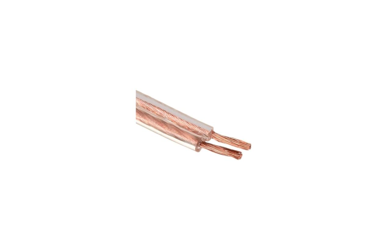 Fio FVD 2x1.5mm transparente (rolo 100m)