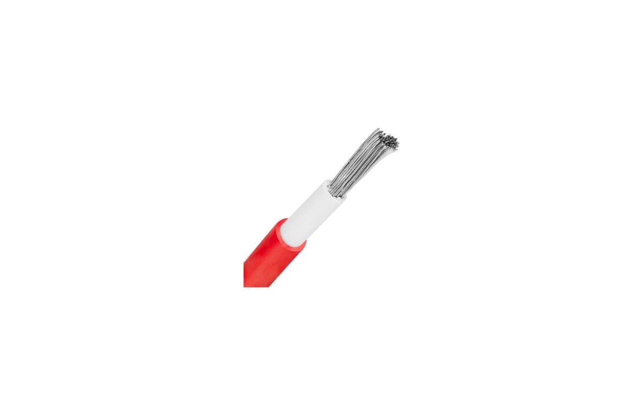 Cabo solar 4mm vermelho