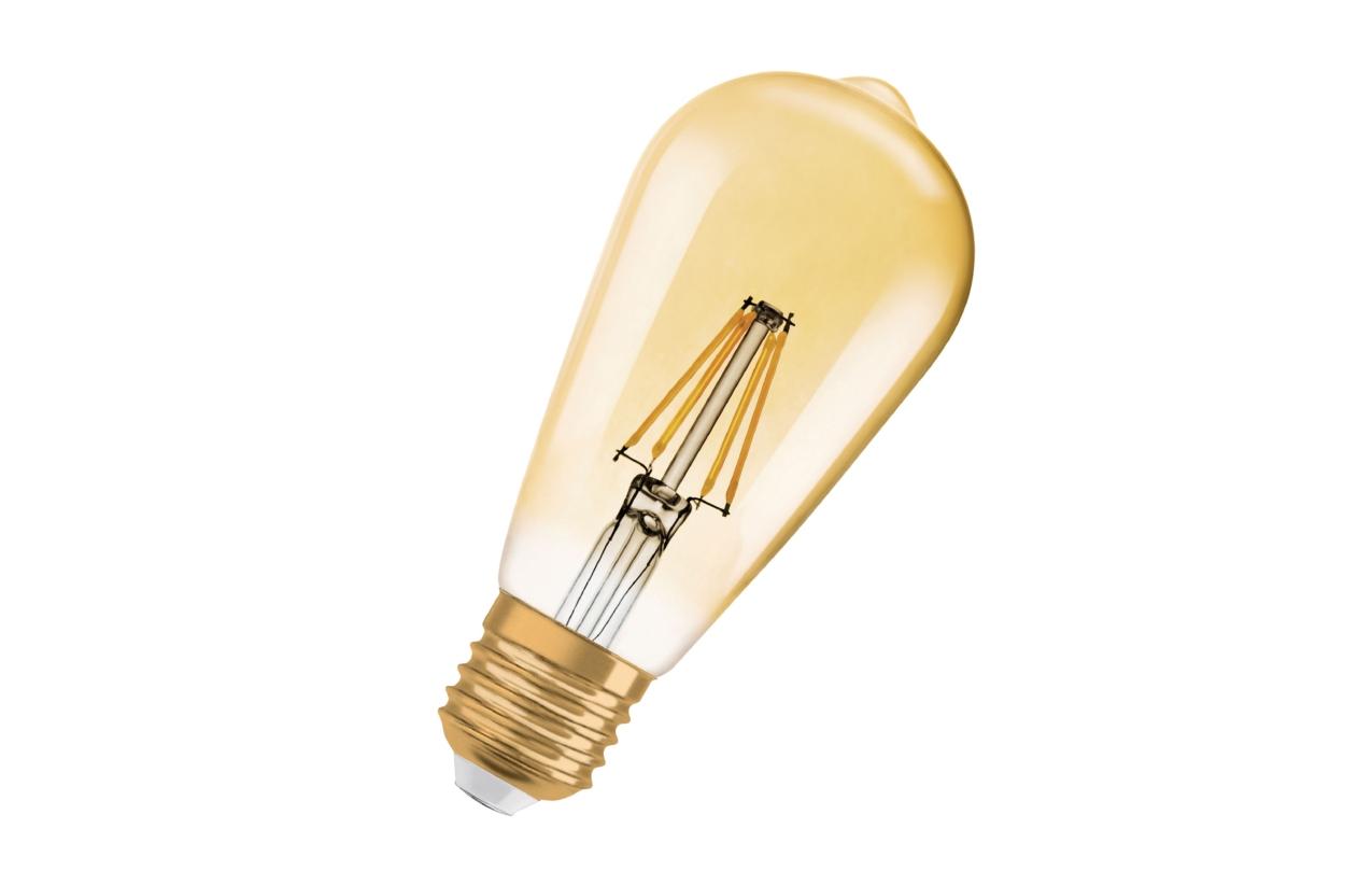 Lâmpada Vintage 1906 LED Edison E27 4W 2400K