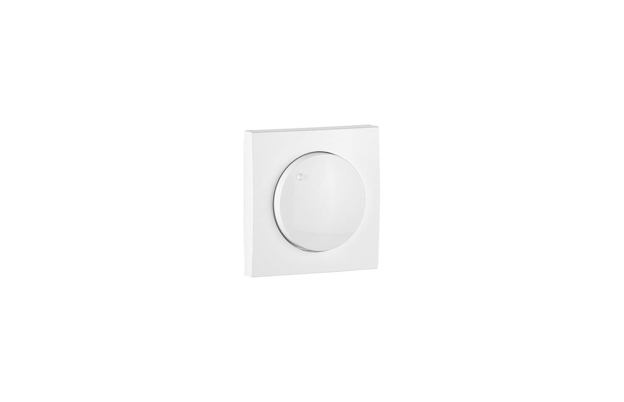 Centro branco para regulador/comutador de luz Logus90 90721 T BR