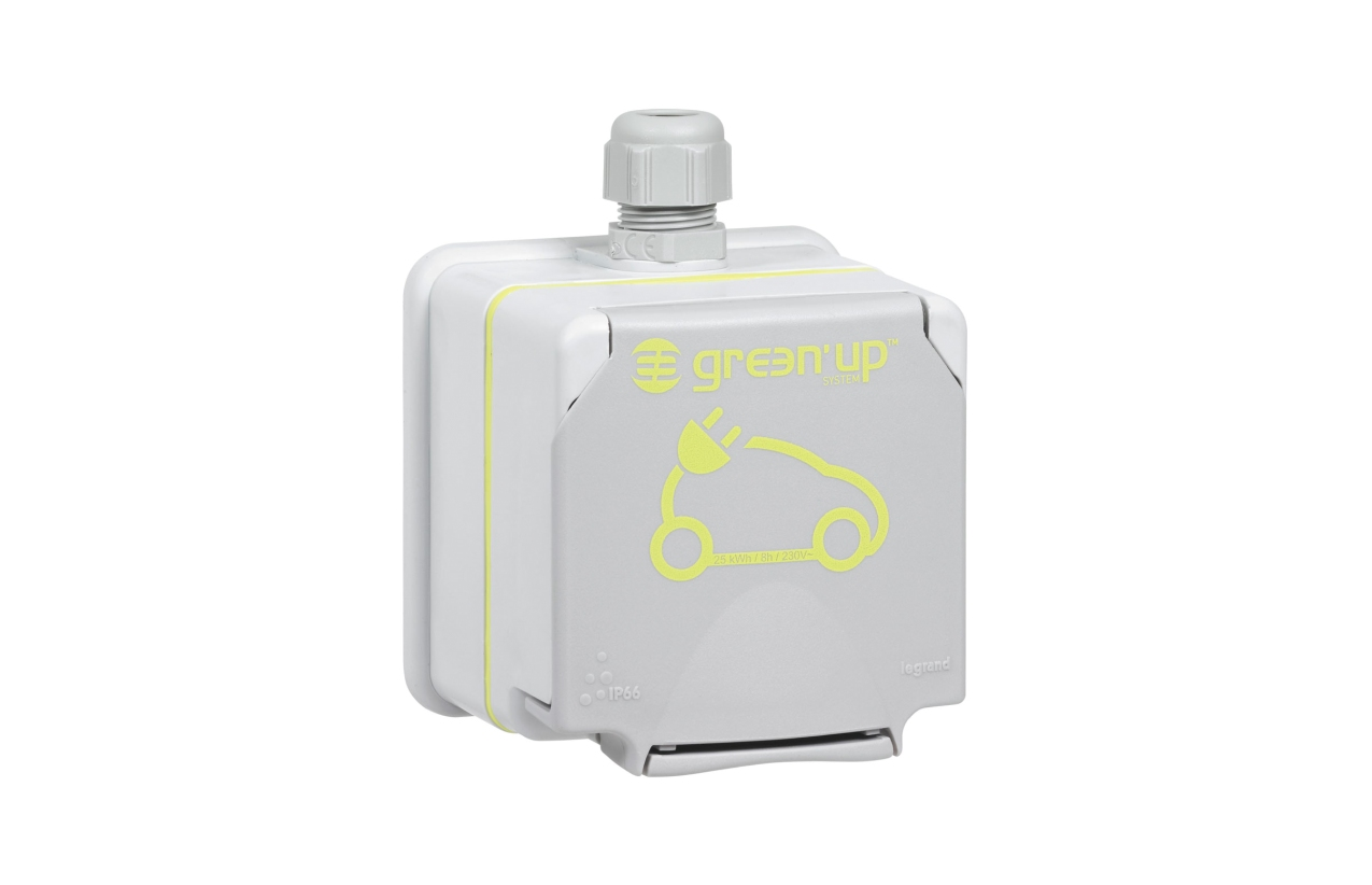 Tomada Legrand Green up Access para veículos elétricos 090472