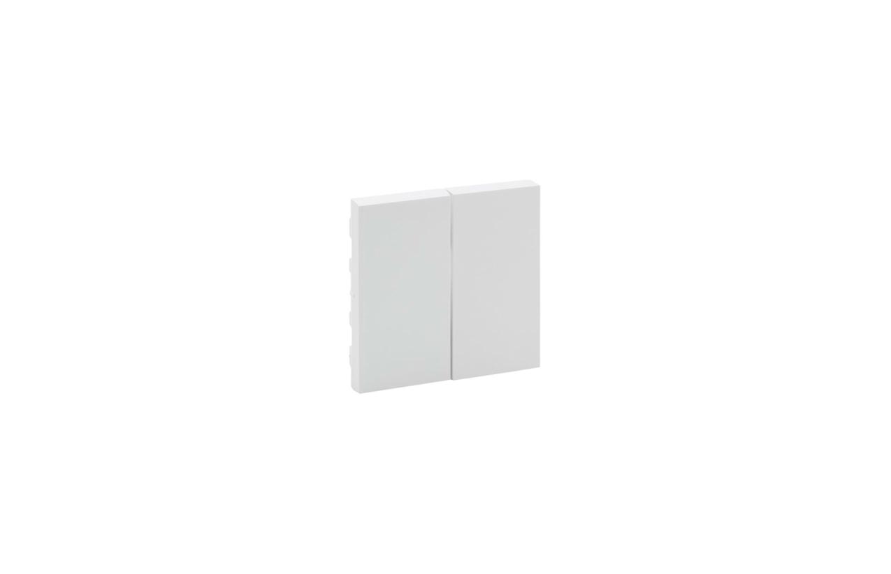 Tecla dupla branca Niloé Step 864105
