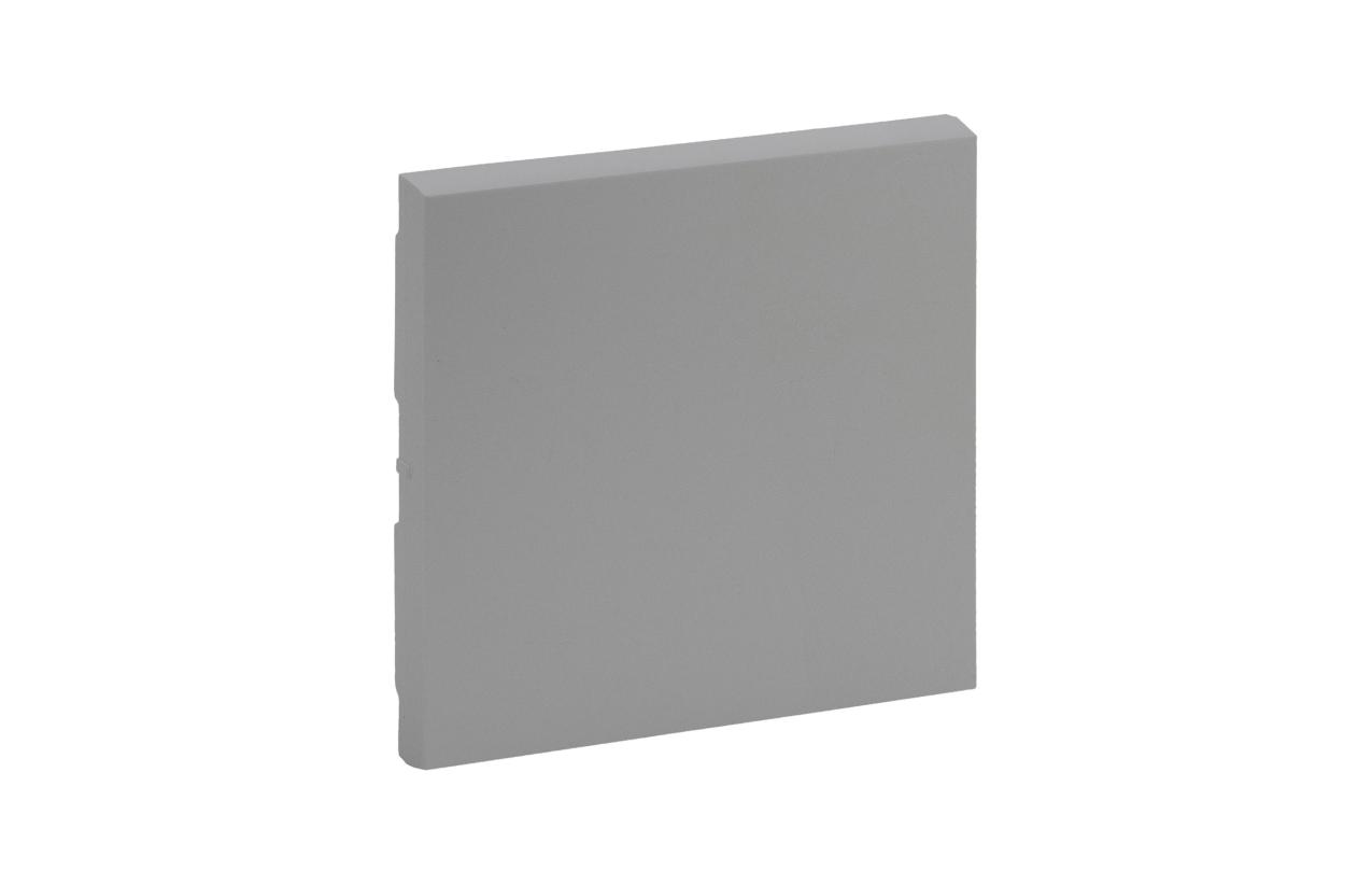 Tecla simples cor alumínio Niloé Step 864301