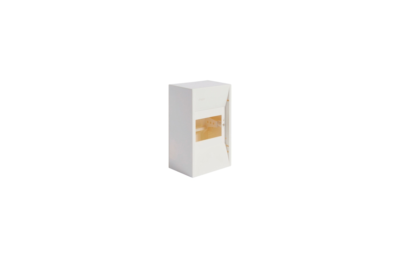 Caixa MINI-GAMMA saliente 1 fila 4 módulos GD102B