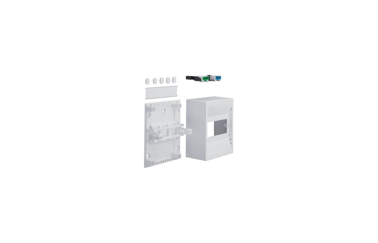 Caixa MINI-GAMMA saliente 1 fila 6 módulos GD106N