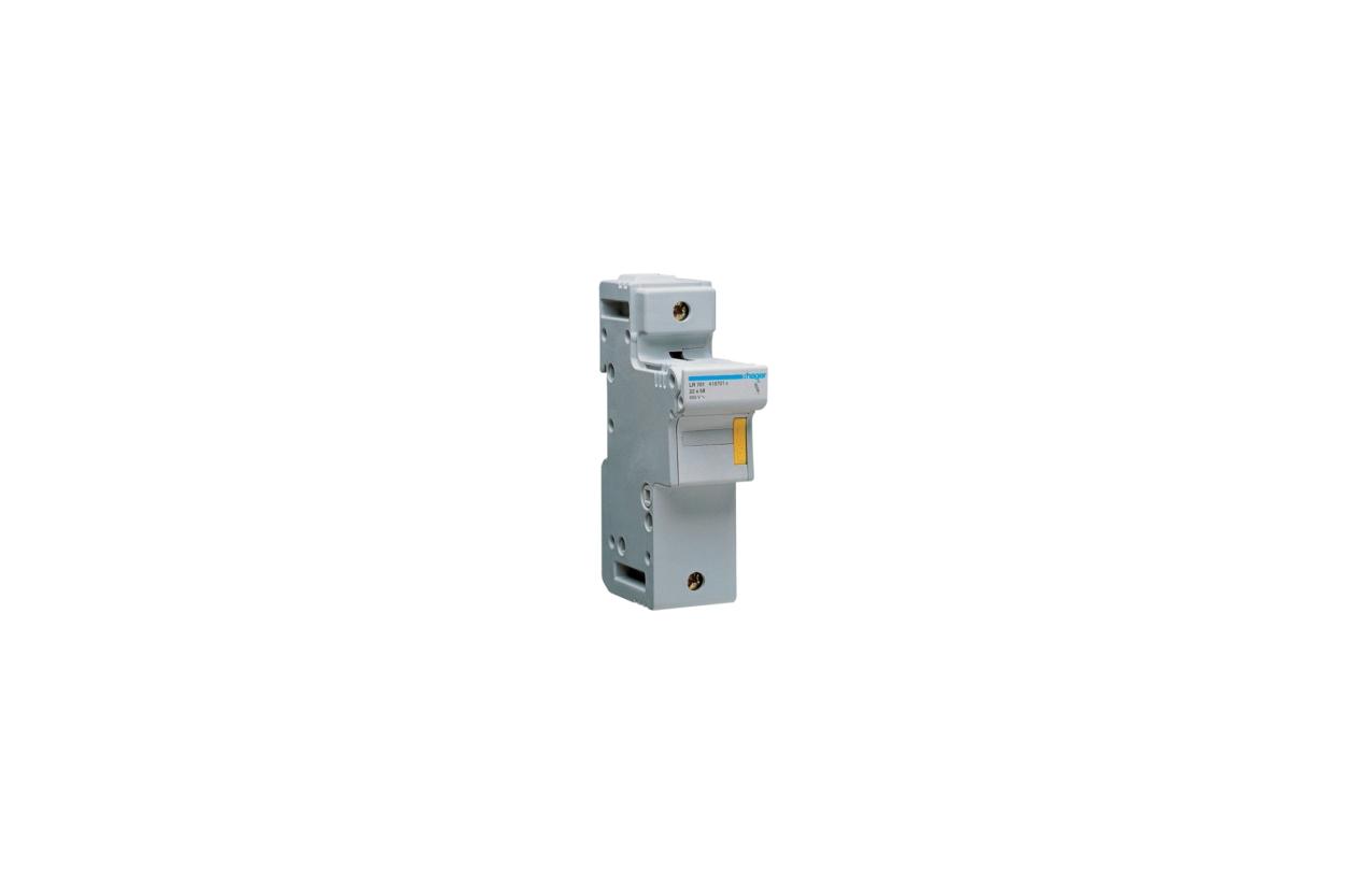 Corta-circuito 1P 125A fusível 22x58mm LR701