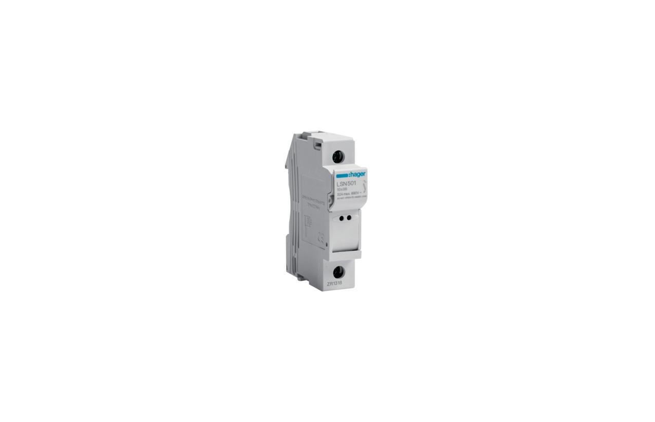 Corta-circuito 1P 32A fusível 10x38mm LSN501