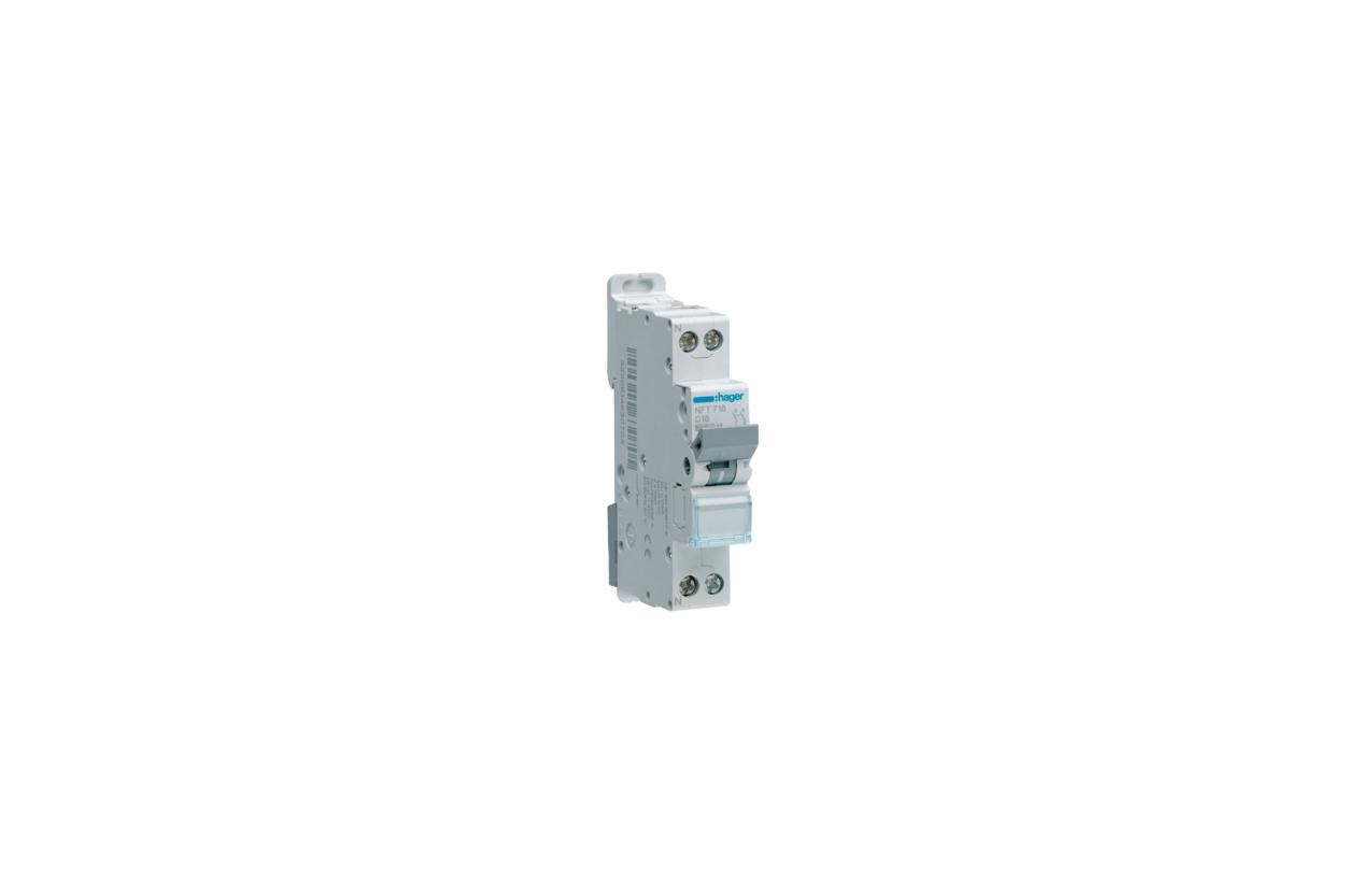 Disjuntor 1P+N 16A C 6/10KA 1M NFT716