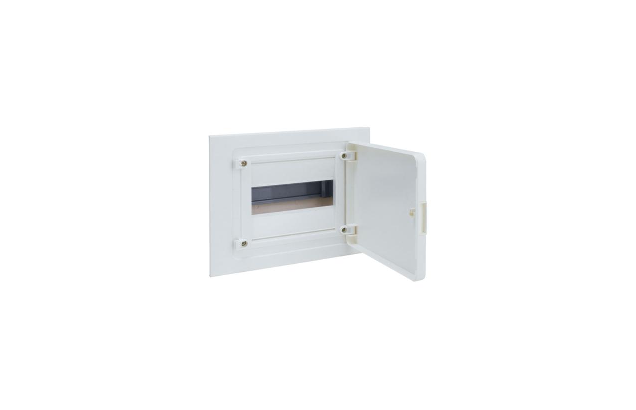 Caixa GOLF para encastrar 1 fila 8 módulos porta opaca VF108PP
