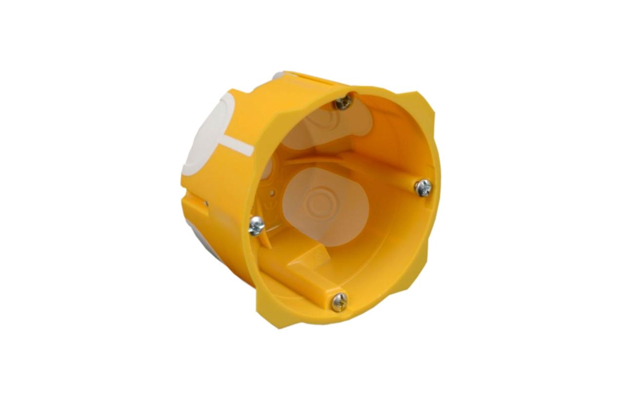 Caixa de aparelhagem simples 50mm com entradas flexíveis KPL 64-50/LD