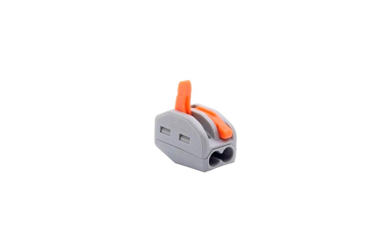 Ligador rápido para fio rígido ou flexível 2x2,5mm