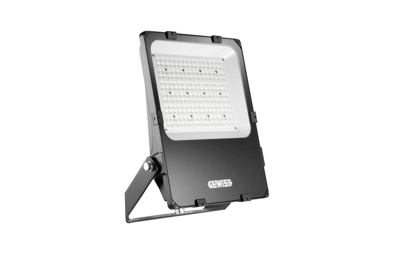 Projetor ELIA FL LED 150W 4000K ótica assimétrica