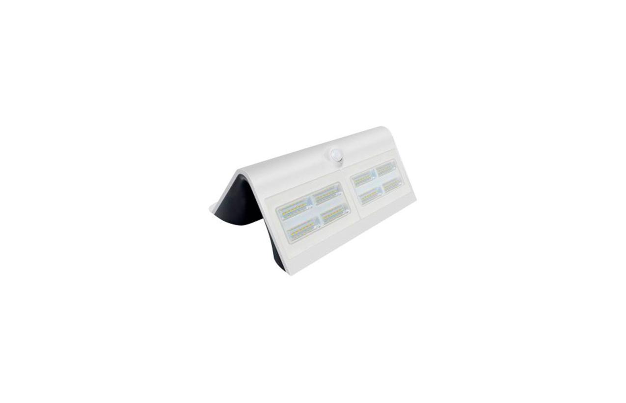 Aplique LED solar 6,8W branco com detetor movimento 8503B