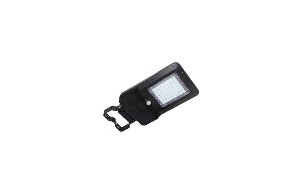 Luminária LED solar 15W preta com detetor movimento 8531N