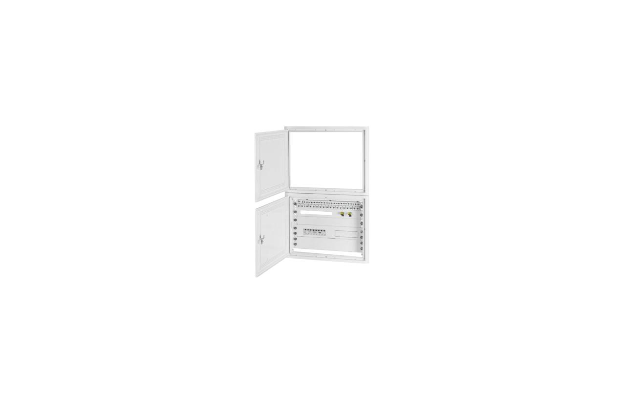 Aro/Porta equipado ATI 3play 6U (16PC + 8CC + 2FO) 2901938