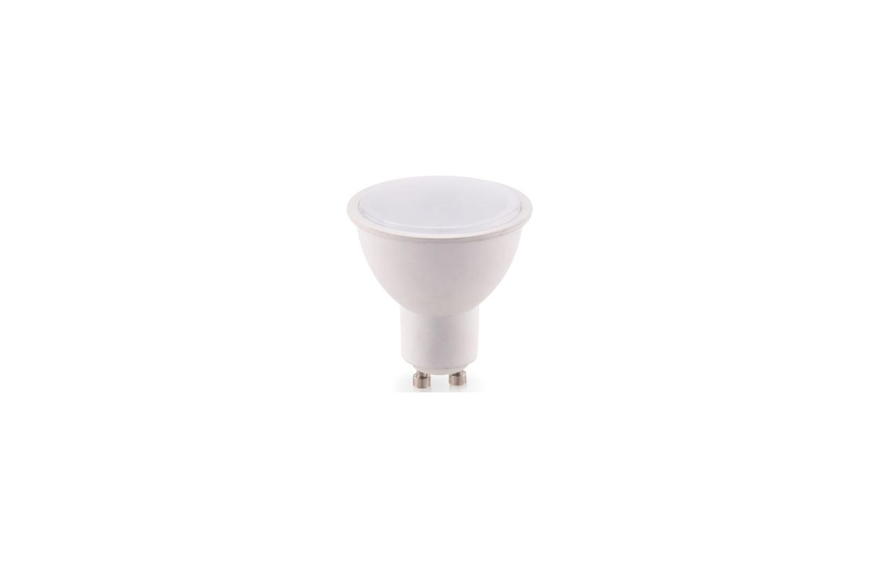 Lâmpada LED GU10 100º 7W 6400K