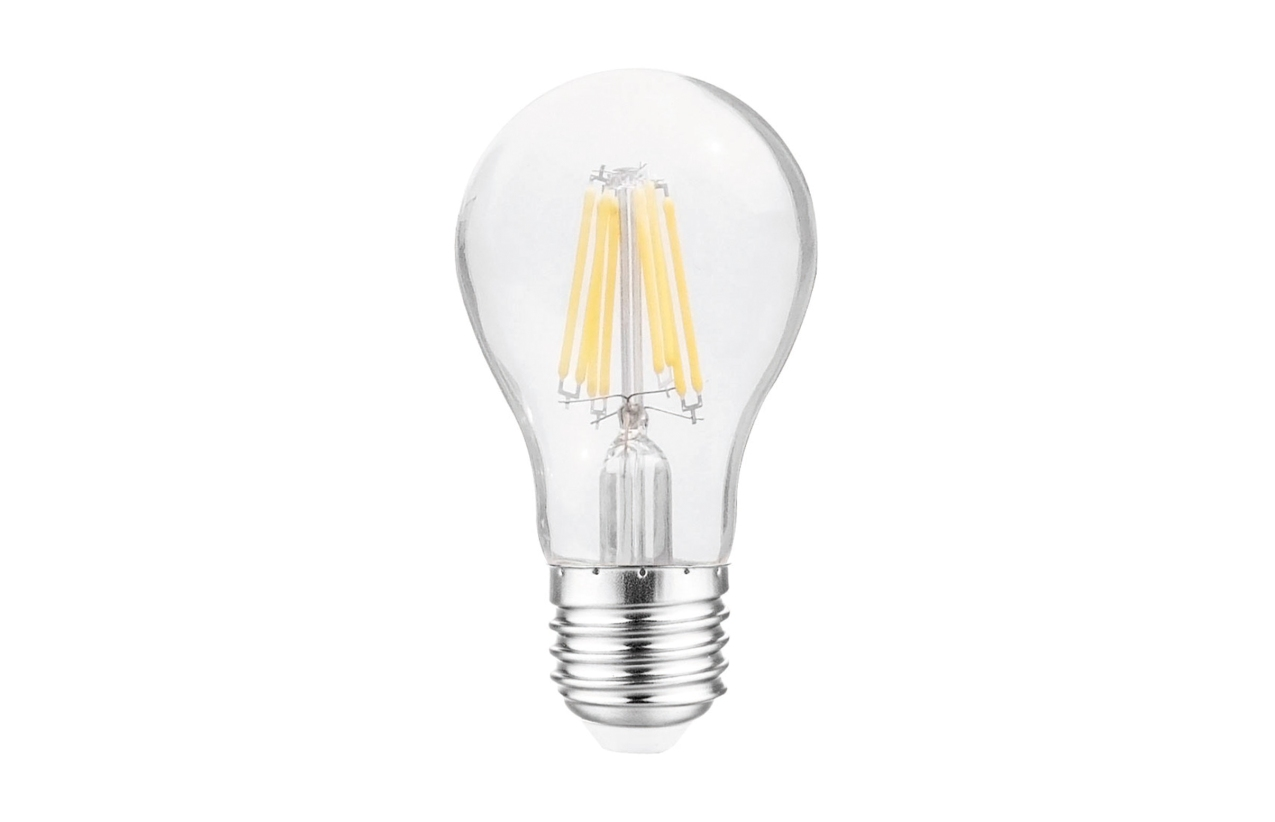 Lâmpada Filamentos LED Standard A60 E27 8W 3000K