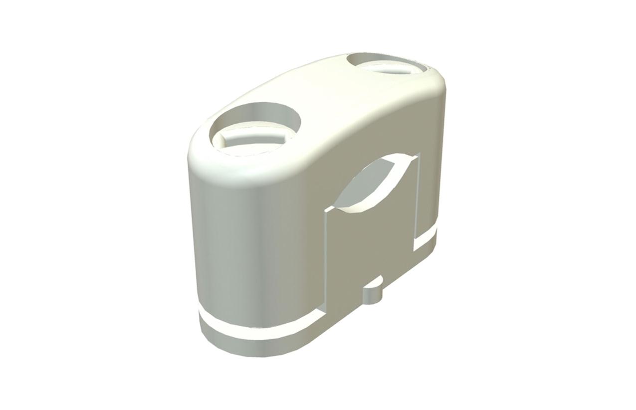 Abraçadeira simples de aperto mecânico (5-14mm)