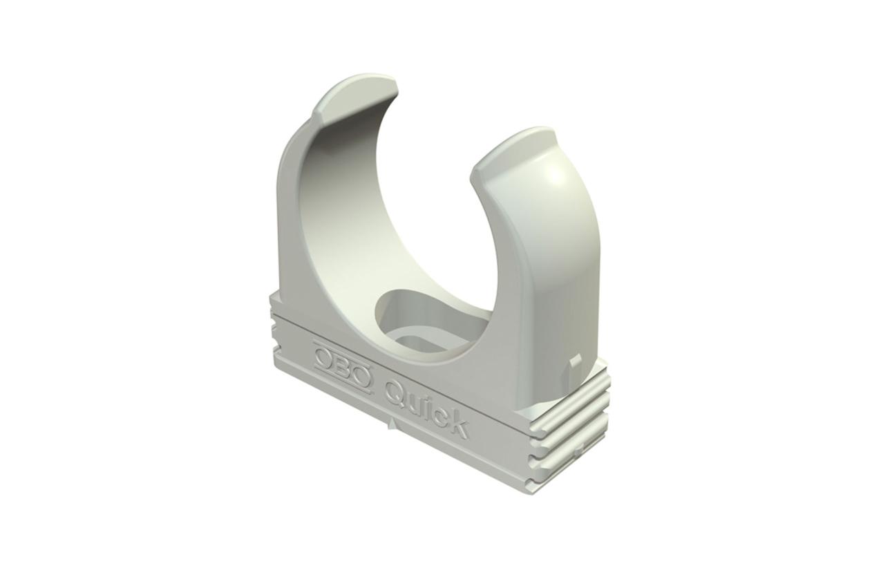 Abraçadeira OBO-Quick Ø25mm cinza 2149016
