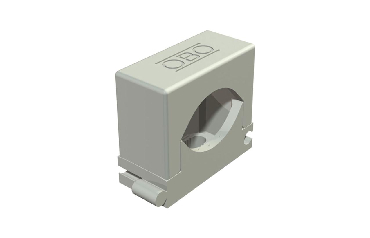 Abraçadeira de aperto por pressão Ø16-24mm cinza 2250241