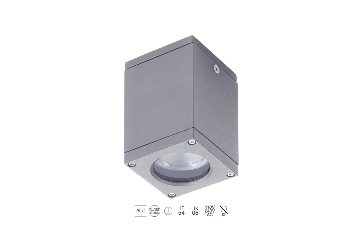 Projetor CUB IP54 cinza 555E-G21X1A-03