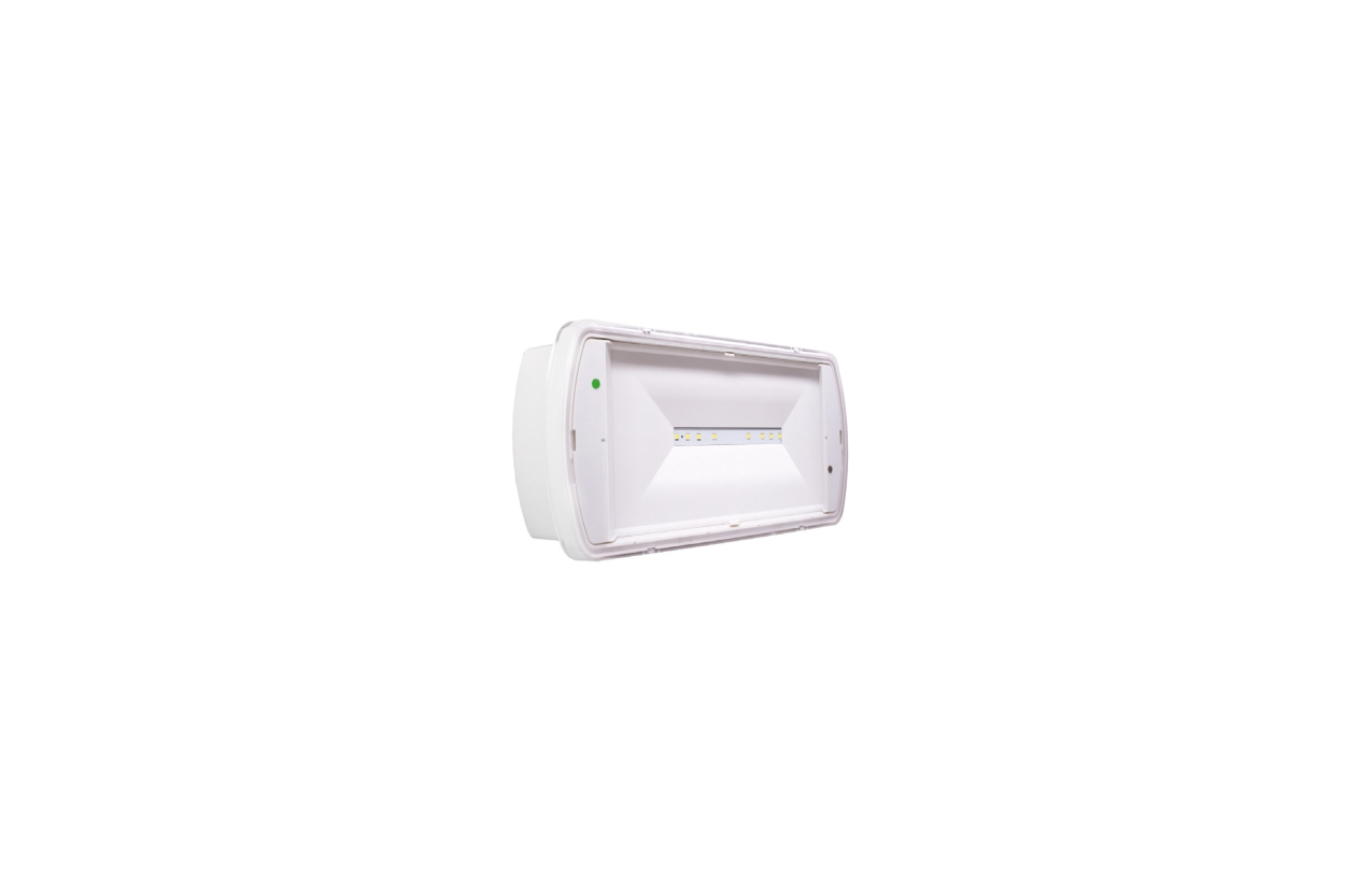 Armadura de emergência SafeLite LED IP65 60lm NP/P