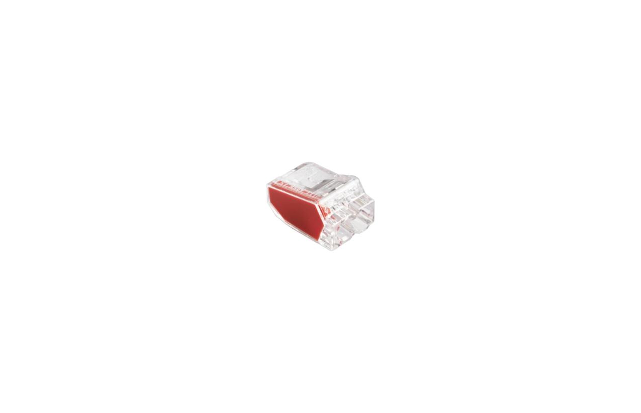 Ligador rápido com mola para fio rígido 2x2,5mm2