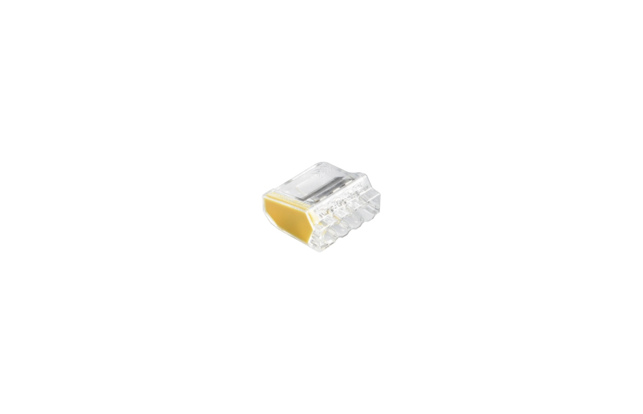 Ligador rápido com mola para fio rígido 4x2,5mm2