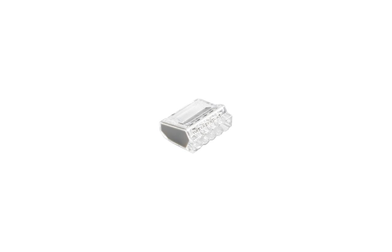 Ligador rápido com mola para fio rígido 5x2,5mm2