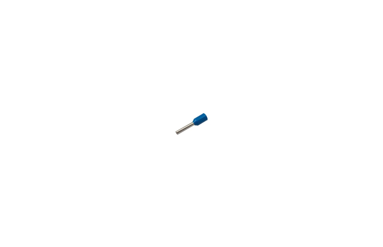 Ponteira isolada 0,75mm azul
