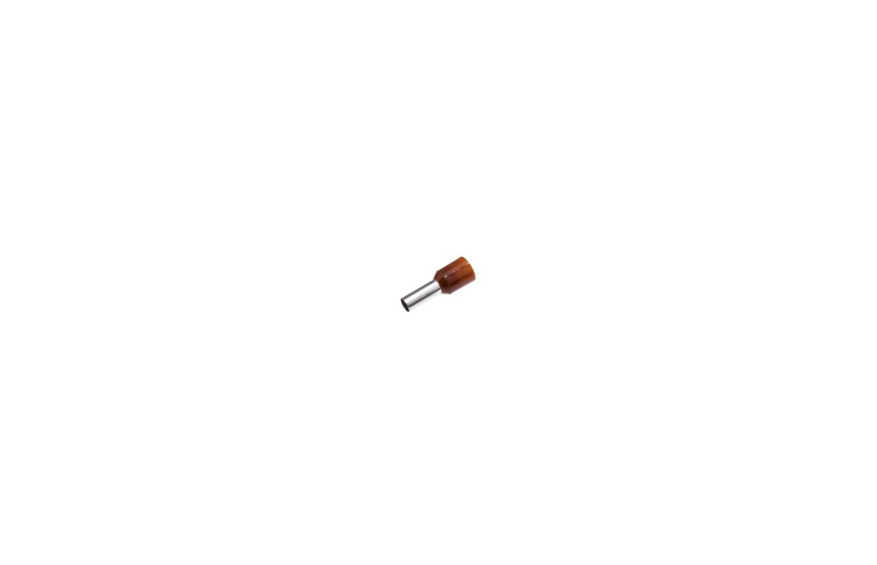 Ponteira isolada 10mm castanho